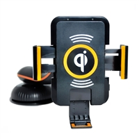 OEM/ODM AF-200 Best Wireless Qi Car Holder Charger Pad Adapter Universal Smartphone Fast Charging