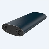 OEM/ODM AF-PB087 11000mAh ABS Artificial Leather LED Power Bank AAA Li-ion Battery Charger